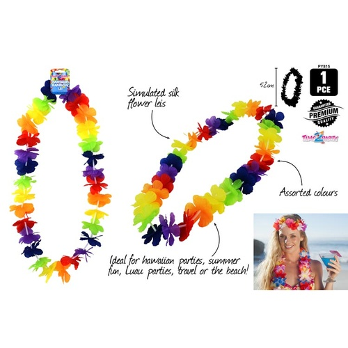 Hawaiian Rainbow Lei 1pc